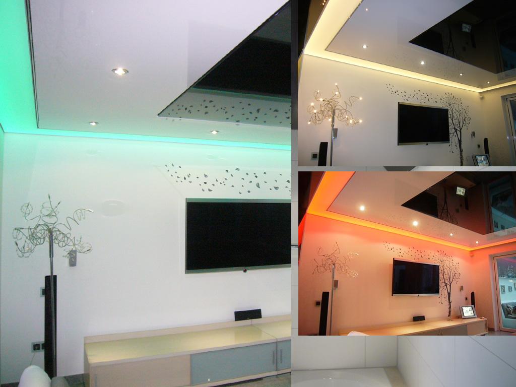 Wohnzimmer Galerie Spanndecken Nrwde